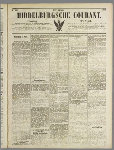Middelburgsche Courant 1908-04-28