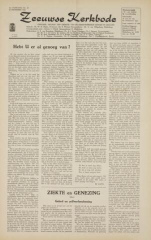 Zeeuwsche kerkbode, weekblad gewijd aan de belangen der gereformeerde kerken/ Zeeuwsch kerkblad 1966-12-16