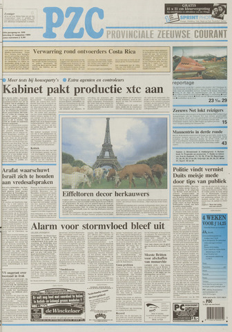 Provinciale Zeeuwse Courant 1996-08-31