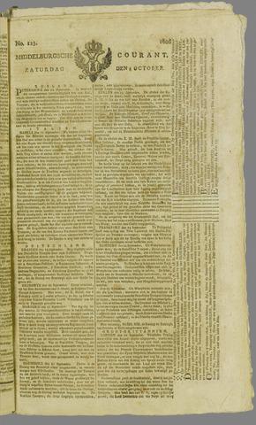 Middelburgsche Courant 1806-10-04