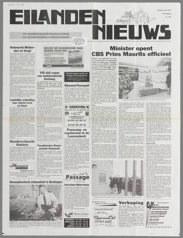 Eilanden-nieuws. Christelijk streekblad op gereformeerde grondslag 2004-04-02