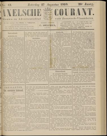 Axelsche Courant 1910-08-27