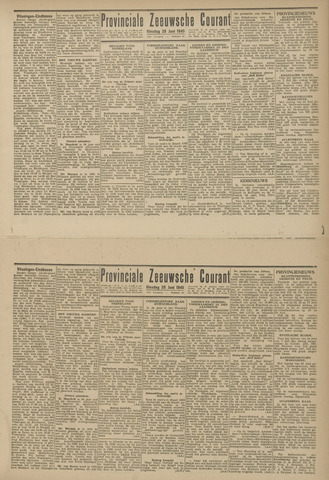 Provinciale Zeeuwse Courant 1945-06-26