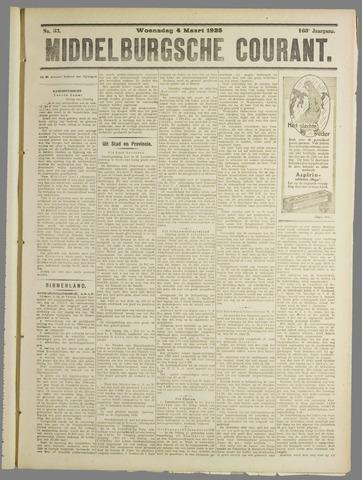 Middelburgsche Courant 1925-03-04