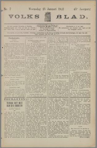 Volksblad 1922-01-25