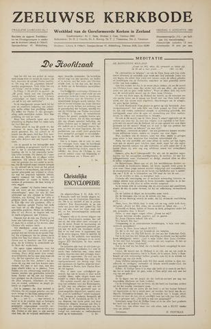 Zeeuwsche kerkbode, weekblad gewijd aan de belangen der gereformeerde kerken/ Zeeuwsch kerkblad 1956-08-03