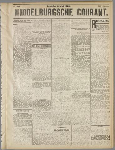 Middelburgsche Courant 1922-05-09