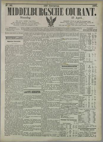 Middelburgsche Courant 1891-04-13