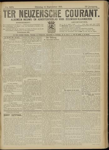 Ter Neuzensche Courant. Algemeen Nieuws- en Advertentieblad voor Zeeuwsch-Vlaanderen / Neuzensche Courant ... (idem) / (Algemeen) nieuws en advertentieblad voor Zeeuwsch-Vlaanderen 1915-09-14