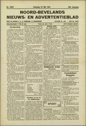 Noord-Bevelands Nieuws- en advertentieblad 1947-05-24