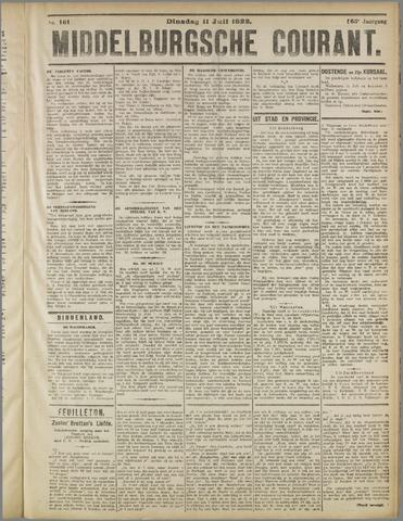 Middelburgsche Courant 1922-07-11