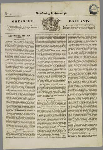 Goessche Courant 1849-01-11