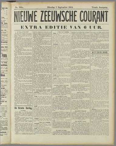 Nieuwe Zeeuwsche Courant 1914-09-08