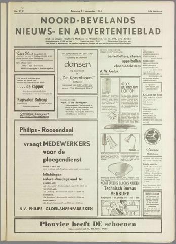 Noord-Bevelands Nieuws- en advertentieblad 1964-11-21