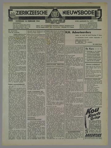 Zierikzeesche Nieuwsbode 1941-02-15