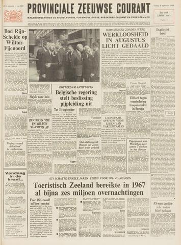 Provinciale Zeeuwse Courant 1968-09-06