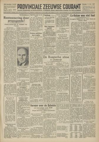 Provinciale Zeeuwse Courant 1947-10-14
