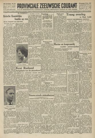 Provinciale Zeeuwse Courant 1947-02-05