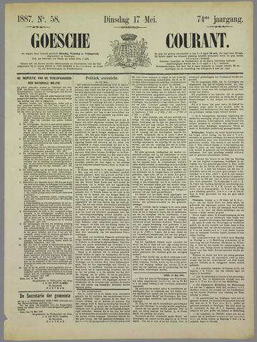 Goessche Courant 1887-05-17