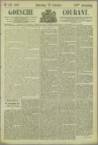 Goessche Courant 1915-10-23