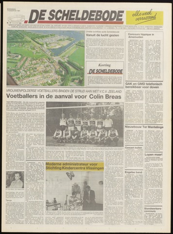 Scheldebode 1991-08-07