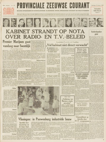 Provinciale Zeeuwse Courant 1965-02-27