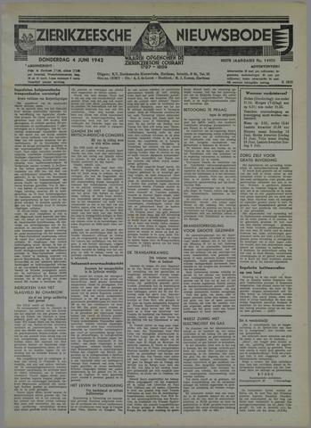 Zierikzeesche Nieuwsbode 1942-06-04