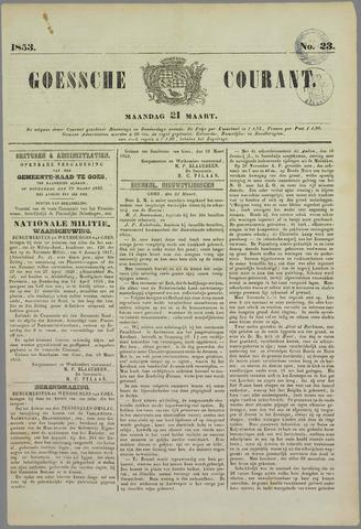 Goessche Courant 1853-03-21