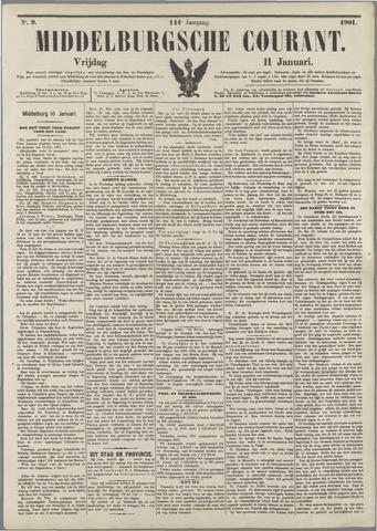 Middelburgsche Courant 1901-01-11
