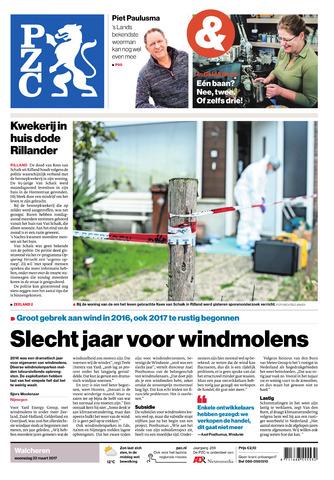 Provinciale Zeeuwse Courant 2017-03-22