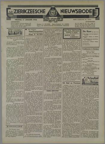 Zierikzeesche Nieuwsbode 1936-01-17