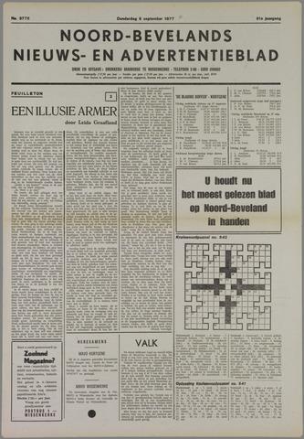 Noord-Bevelands Nieuws- en advertentieblad 1977-09-08
