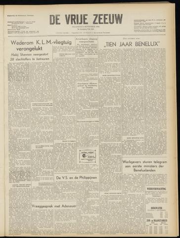 de Vrije Zeeuw 1954-09-06
