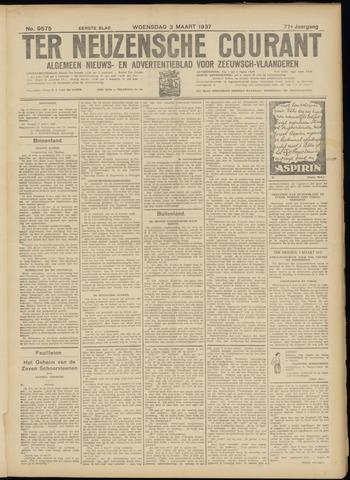 Ter Neuzensche Courant. Algemeen Nieuws- en Advertentieblad voor Zeeuwsch-Vlaanderen / Neuzensche Courant ... (idem) / (Algemeen) nieuws en advertentieblad voor Zeeuwsch-Vlaanderen 1937-03-03