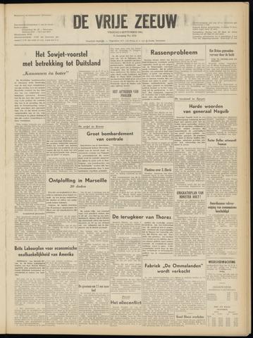 de Vrije Zeeuw 1952-09-05