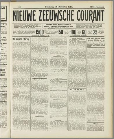 Nieuwe Zeeuwsche Courant 1915-12-16