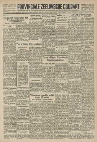 Provinciale Zeeuwse Courant 1946-08-19