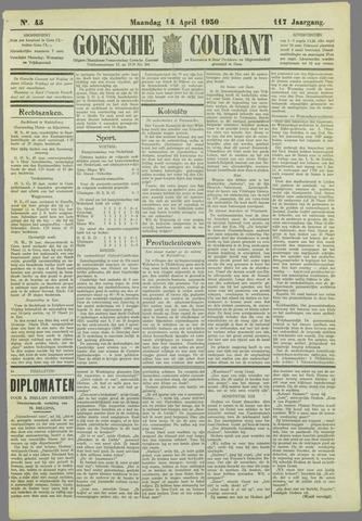 Goessche Courant 1930-04-14