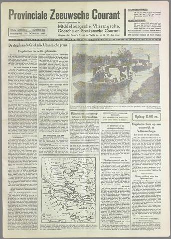 Provinciale Zeeuwse Courant 1940-10-30
