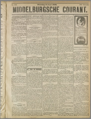 Middelburgsche Courant 1922-06-06