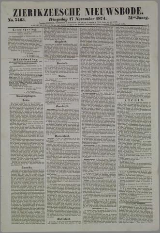 Zierikzeesche Nieuwsbode 1874-11-17