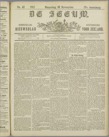 De Zeeuw. Christelijk-historisch nieuwsblad voor Zeeland 1912-11-18