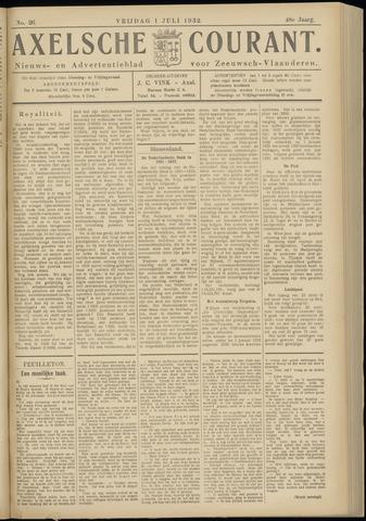Axelsche Courant 1932-07-01