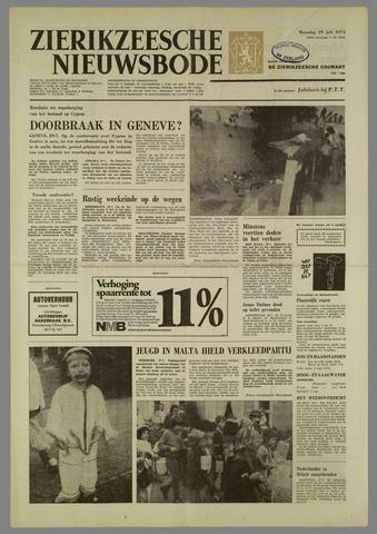 Zierikzeesche Nieuwsbode 1974-07-29