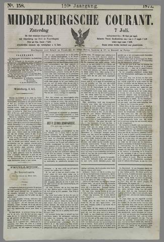 Middelburgsche Courant 1877-07-07