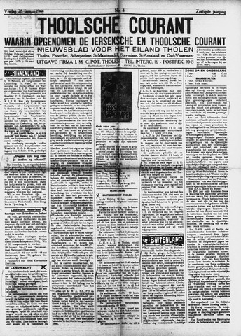 Ierseksche en Thoolsche Courant 1944-01-28