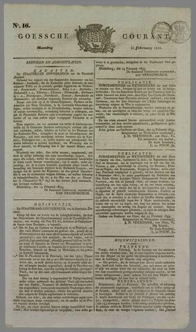 Goessche Courant 1833-02-25