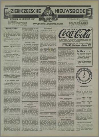 Zierikzeesche Nieuwsbode 1937-11-13