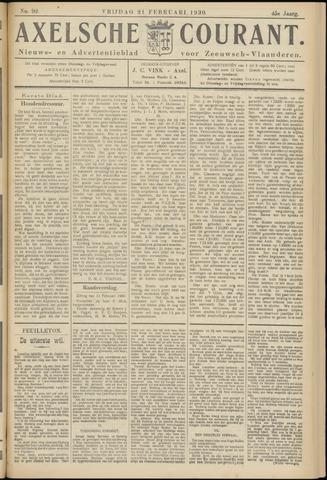 Axelsche Courant 1930-02-21