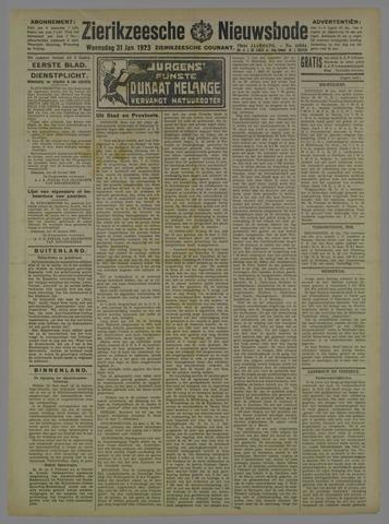 Zierikzeesche Nieuwsbode 1923-01-31